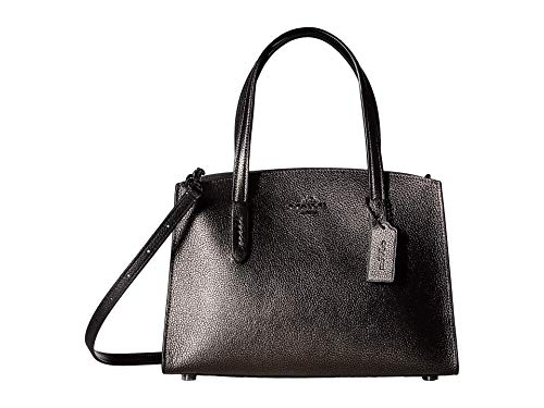 COACH Metallic Charlie 28 Carryall Gunmetal/Metallic Graphite One Size
