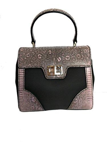 Prada Women's Pink Tessuto Lucerto Handbag 1BA014