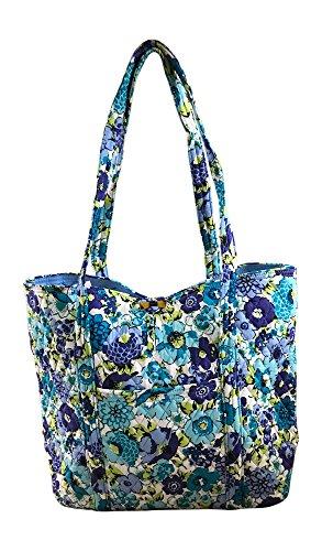 Vera Bradley Vera Tote Bag, Blueberry Blooms