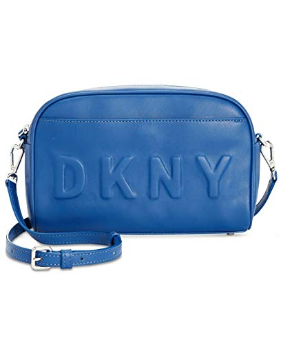 DKNY Tilly Logo Camera Bag Crossbody Handbag Blue