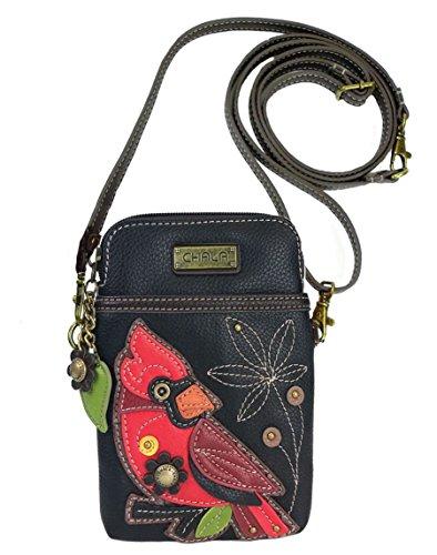 Chala Cardinal Cellphone Crossbody Handbag – Convertible Strap