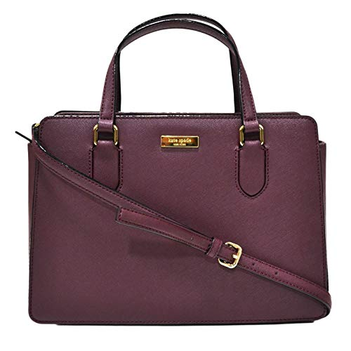 Kate Spade New York Reese Laurel Way Purse (Deep Plum)
