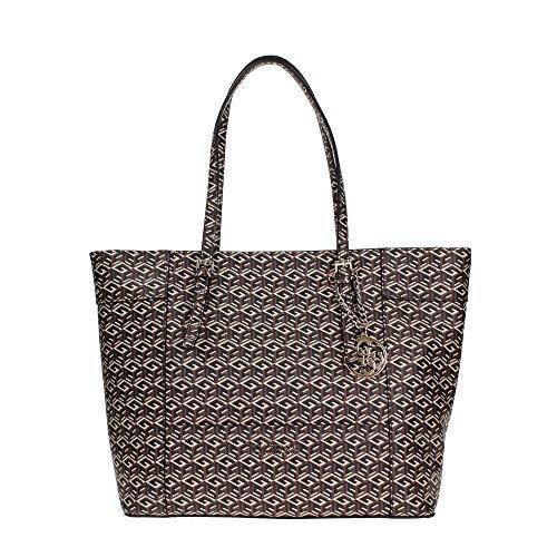Guess Handbag Delaney Medium Classic Tote, Mocha GC453523-MOC