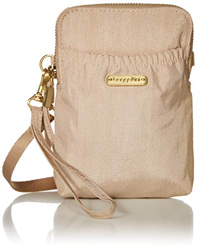 Baggallini RFID Bryant Pouch, champagne shimmer