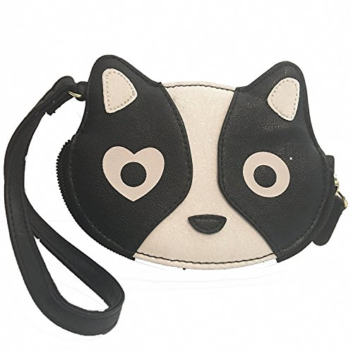 Luv Betsey by Betsey Johnson LBKIT Black and White Coin Purse