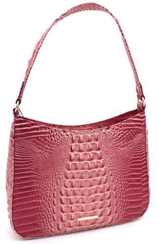 Brahmin Noelle Genuine Leather Shoulder Bag (Lotus Melbourne)