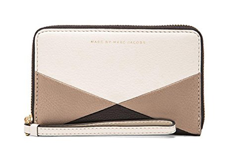 MARC BY MARC JACOBS 'Sophisticato – Wingman' Leather Phone Wallet Leche Multi