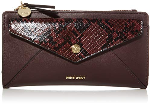 Nine West Wallet, DK GARNET MULTI