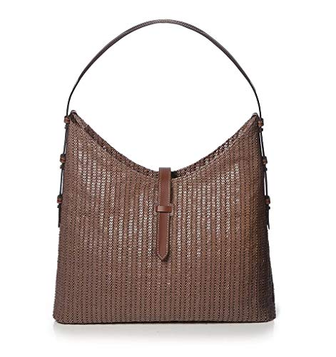 Eric Javits Luxury Fashion Designer Women's Handbag – Staci – Caper