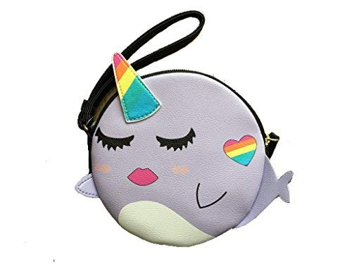 Luv Betsey by Betsey Johnson Purple Narwhal Coin Purse
