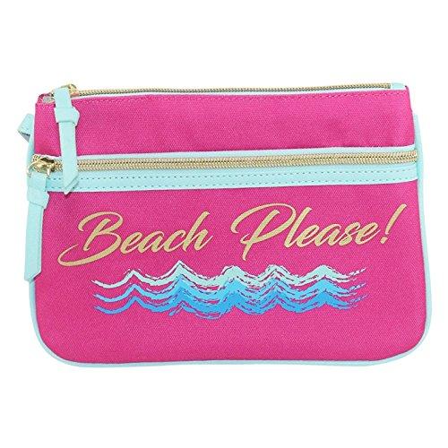 Betsey Johnson Beach Wristlet – Beach Please