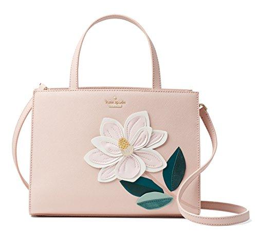 Kate Spade New York Swamped Magnolia Sam Leather Bag -Soft Pink Multi