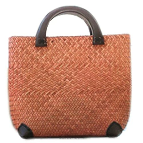 handmade embroidery knit/weave bamboo rattan straw handbag/satchel