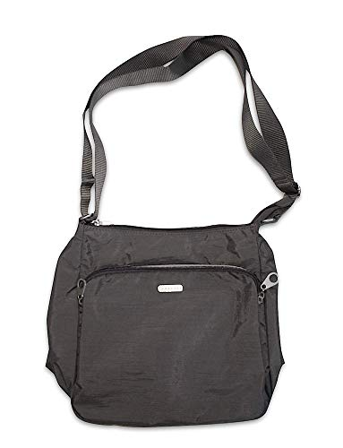Baggallini Gray Shoulder Hand Bag Purse Handbag Nylon