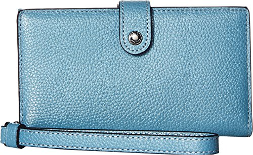 COACH Women's Phone Wristlet Dk/Chambray One Size