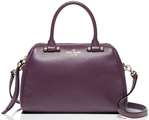 kate spade new york Charles Street Mini Brantley Satchel Shoulder Bag, Soft Aubergine