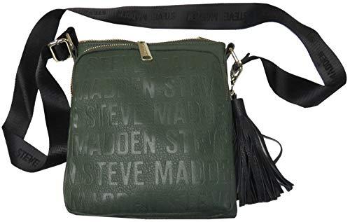 Steve Madden Women's Purse Handbag BGlam Crossbody Olive