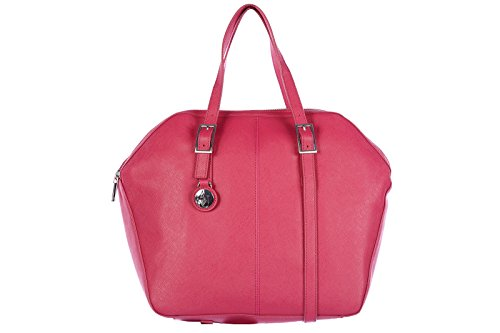 Armani Jeans women's handbag shopping bag purse aj fucsia
