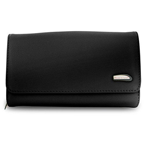 Travelon Convertible Leather Purse (Black)
