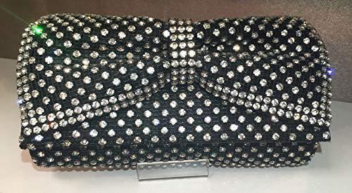 PLASTILINUM by Nib Crystal Evening Bag Clutch Hand Bag Made with Swarovski Elements Bow Cool car Tuning Accessories