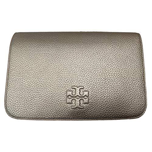 Tory Burch 55371 Emerson Saffiano Wallet Gold Thea Clutch