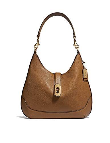 Coach Amber Handbag Light Saddle Leather Hobo Bag