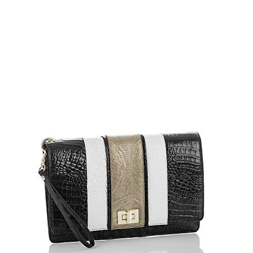 Brahmin Lily Pouch Handbag Black Amida
