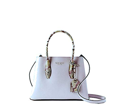 Kate Spade Eva Snake Trim Small Satchel Leather Women's Crossbody Bag Handbag