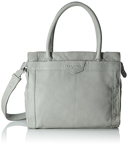 Liebeskind Berlin Glory7 Vintag, Women's Shoulder Bag, Grau (Elephant Grey), 18x35x29 cm (B x H T)