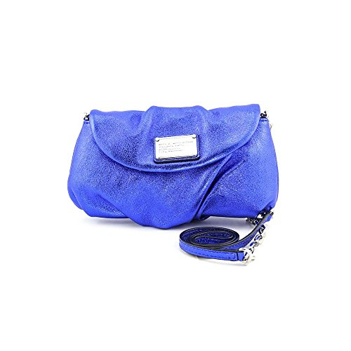 Marc by Marc Jacobs Classic Q Metallic Karlie Crossbody,Scuba Blue