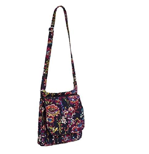 Vera Bradley Mailbag Cross Body Mailbag – Midnight Wildflowers