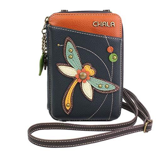 Chala Dragonfly Wallet Crossbody Handbag – Convertable Strap