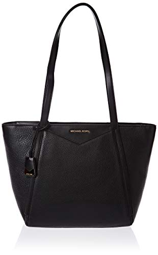 MICHAEL Michael Kors Whitney Small Top Zip Tote Black One Size