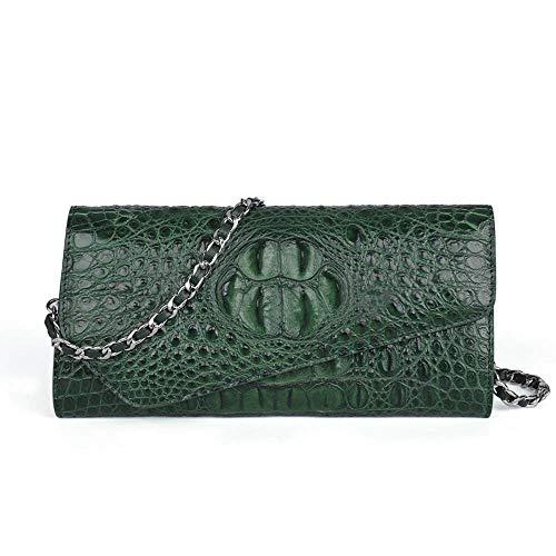 Xruyang Carrier-Bag Lady European and American Fashion Leather Handbag Shoulder Bag Lady Makeup Evening Bag Chain Bag 25 12 4cm Handbag
