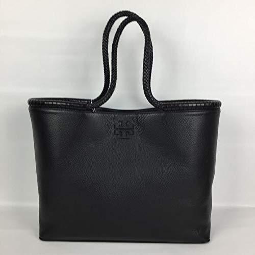 Tory Burch Taylor Tote Women's Leather Large Handbag (Black)
