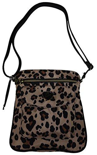 Betsey Johnson Women's Nylon Mush Crossbody/Xbody Handbag (Natural)