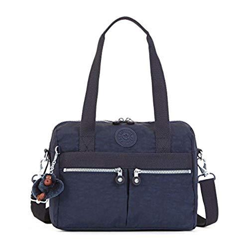 Kipling Klara Satchels Shoulder Crossbody Bag (Ink Blue)