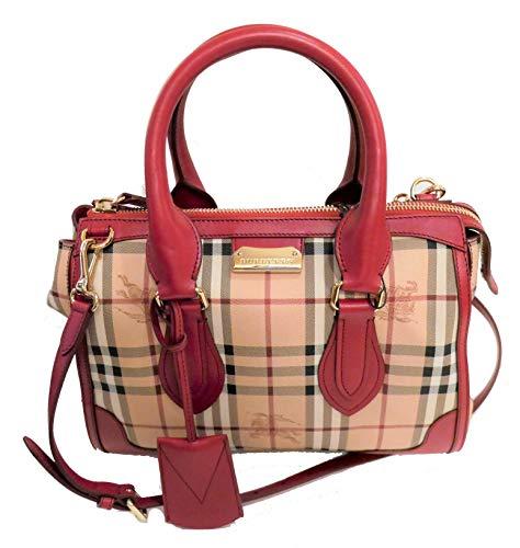 Burberry Nova Haymarket Check Gladstone Tote Bag