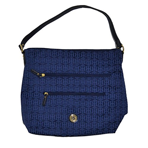 Tommy Hilfiger Hobo Handbag Purse Blue