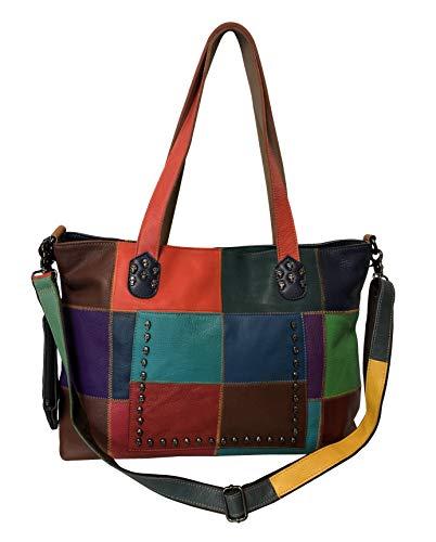 Amerileather Cleo Leather Tote Bag (#1933-8)
