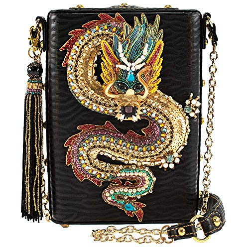 Mary Frances Dragon Fire, Beaded Crossbody Handbag
