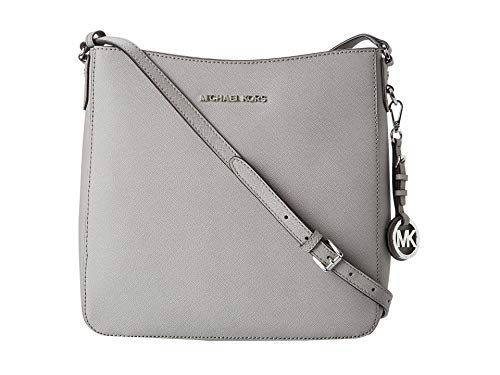 MICHAEL Michael Kors Jet Set Travel Lg Messenger Pearl Grey One Size