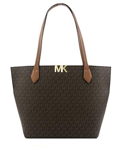 Michael Kors Montgomery Signature Large Bonded Tote Handbag