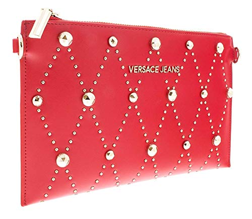Versace EE3VSBPE8 E331 Maroon Clutch for Womens