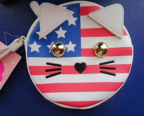Luv Betsey America Kitty Coin Purse USA