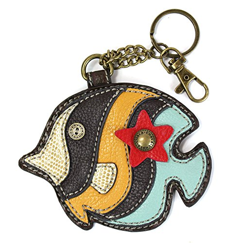Chala Decorative Coin Purse/Key-Fob (Angelfish)