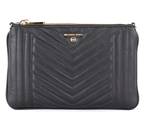 Michael Kors Shoulder Bag Michael Kors Model Jet Set In Black Quilted Leather Black