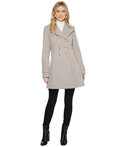 Ivanka Trump Women's Softshell Fit Flare Double Breasted Trench Coat Size XL