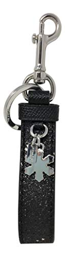 Coach Star Glitter Loop Bag Charm Black F39531