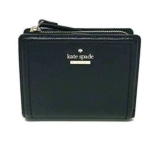 Kate Spade  New York Patterson Drive Small Shawn Black Leather Wallet